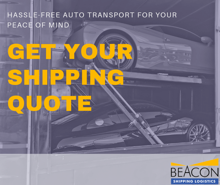 Free Auto Transport Quote Beacon Shipping Beauteous Auto Shipping Quote