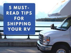 rv; transport; camper; trailer