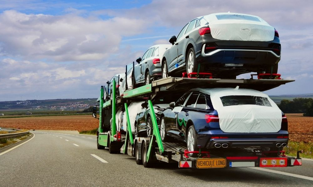 How Many Vehicles Can I Have Hauled at Once?